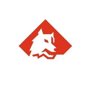 狼网络科技公司logo设计
