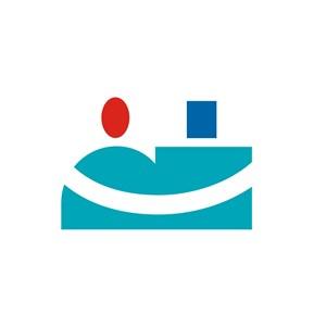 商务贸易笑脸logo标志