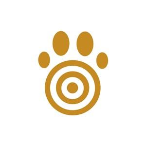 儿童服饰掌印logo标志