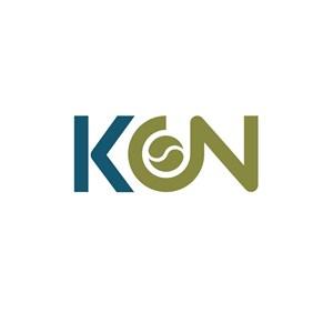 商务毛衣MON字母logo设计标志