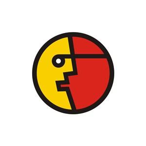 家居行业月亮地球logo标志