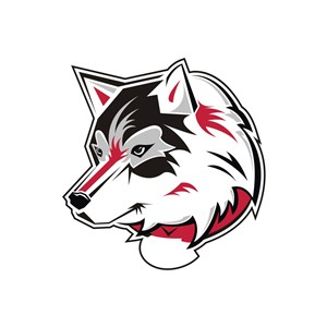 狼头运动休闲品牌logo