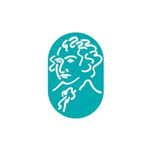 教育培训机构人物logo标志设计