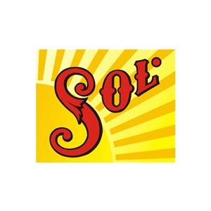 SOL运动品牌logo设计