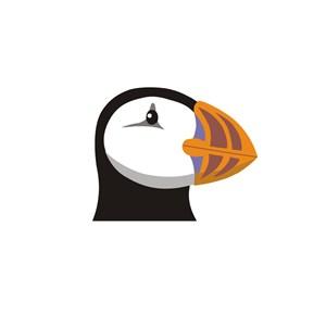 环保动物口罩logo表示