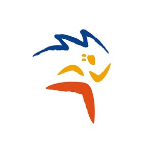卡通人物运动休闲品牌logo