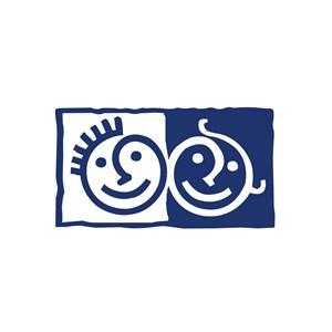 儿童娱乐场所笑脸logo标志