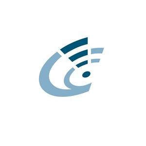 网络科技信号标志logo