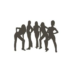 美女模特美容医疗机构logo