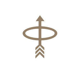 P箭头运动品牌标志设计