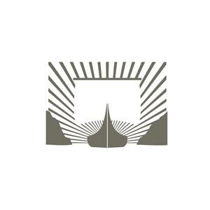 钢笔图案文具店品牌logo