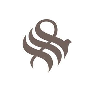 S孔雀美容机构logo设计