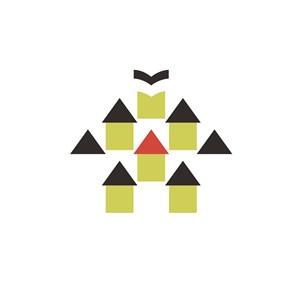 几何房屋酒店旅游logo设计