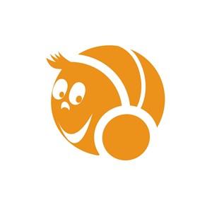 设计传媒广播人物笑脸logo标志
