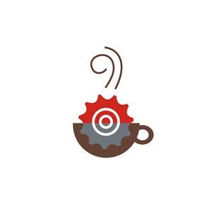 咖啡店LOGO设计图标素材
