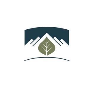 环保绿色标志logo设计
