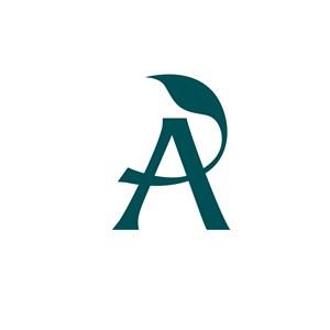 美容医疗A字logo标志