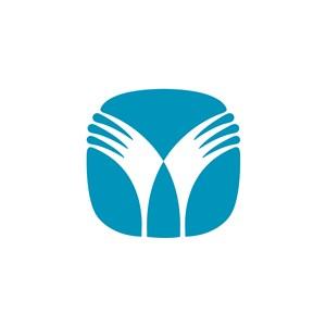 电子机械翅膀logo标志