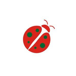 儿童服饰七星瓢虫logo标志