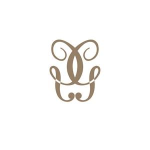 酒店旅游XU字母logo标志设计