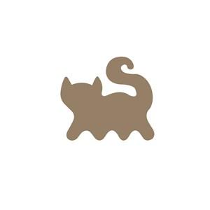 商务贸易猫logo标志