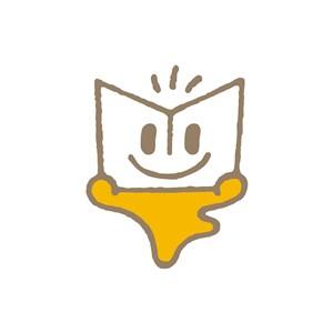 教育行业笑脸书籍logo标志