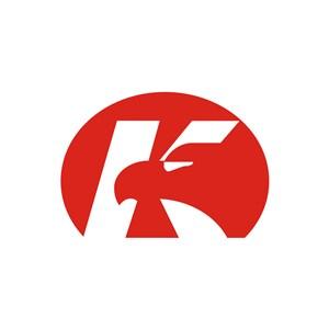 家居行业K字logo标志