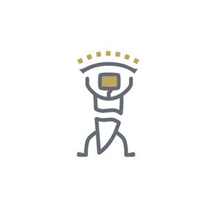 设计传媒人物logo标志