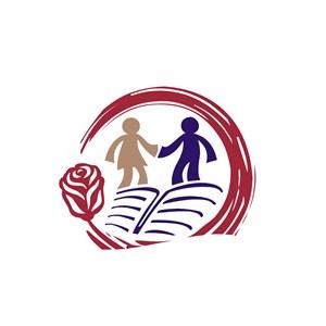 教育机构友好读书氛围logo标志