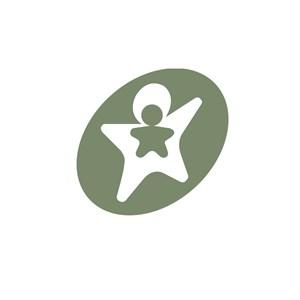 服饰行业儿童标志logo