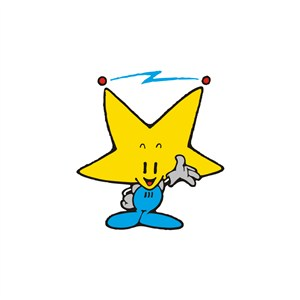 儿童休闲娱乐场所星星卡通人物logo标志