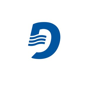 金融机构D字母logo标志