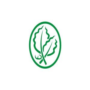 服饰时尚树叶logo标志