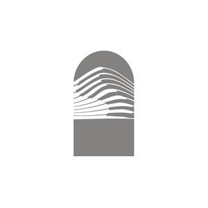 家具地产手指纹logo标志