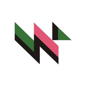 商務貿易NW字貿易logo