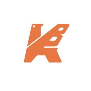 家具行业刀具K字logo标志