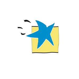 服饰时尚星星logo标志