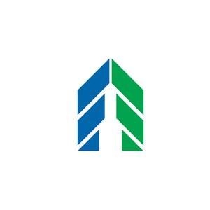 地产火箭大楼logo标志