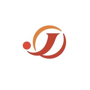 航空公司标志设计--字母J图案