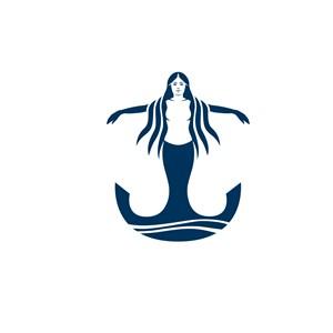美人魚酒店旅游標志設計