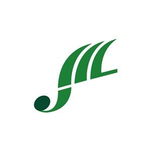 美发行业时髦卷发logo标志