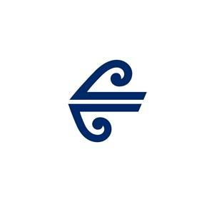 翅膀圖案航空公司logo