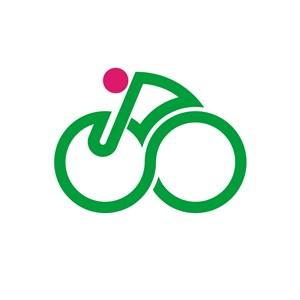 残障人士轮椅logo标志