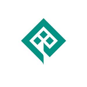金融机构方形logo标志