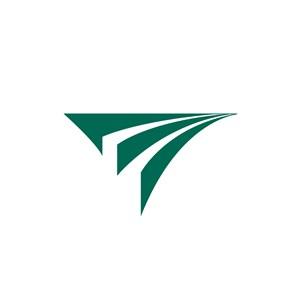 三角形商务贸易公司logo