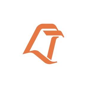 电子机械简约logo标志