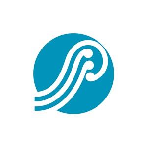 运动休闲海浪logo标志