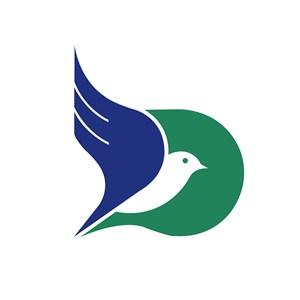 家居行业飞鸟logo标志