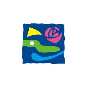 服饰时尚玫瑰花logo标志