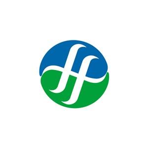 网络科技FH字logo标志设计